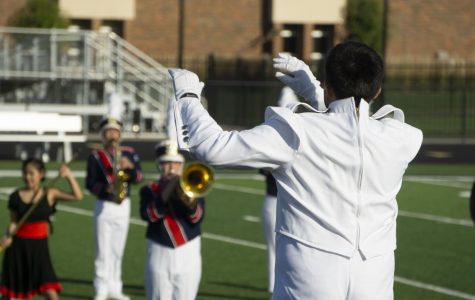 Marching band stirring up treble this competition season