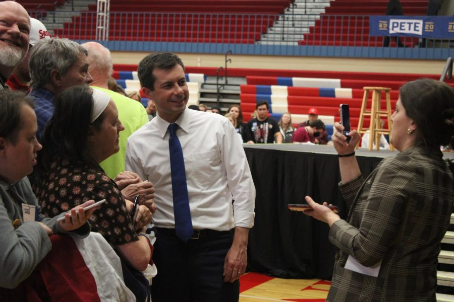 Mayor Pete Buttigieg visits CBAL