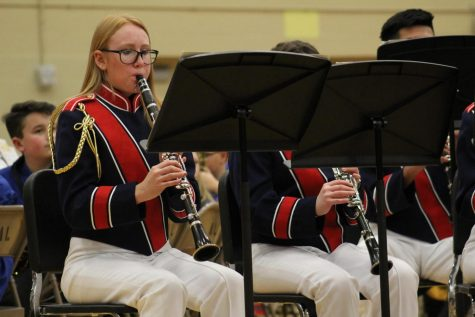 Kirn and ALHS concert bands give a note-worthy performance at the Parade of Bands event