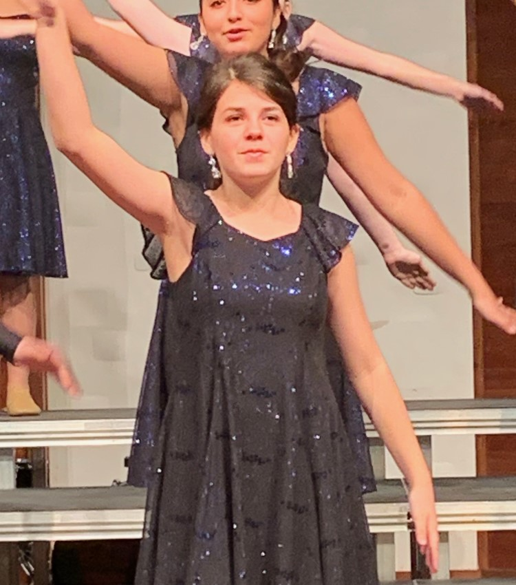 Dancing her way to our first eighth grader of the week is Ashlin McCollough
