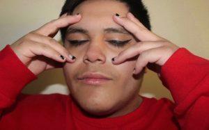 Pictured: Jesse Medina Photo taken by: Lenis Rangel Makeup done by: Blanca Guevara