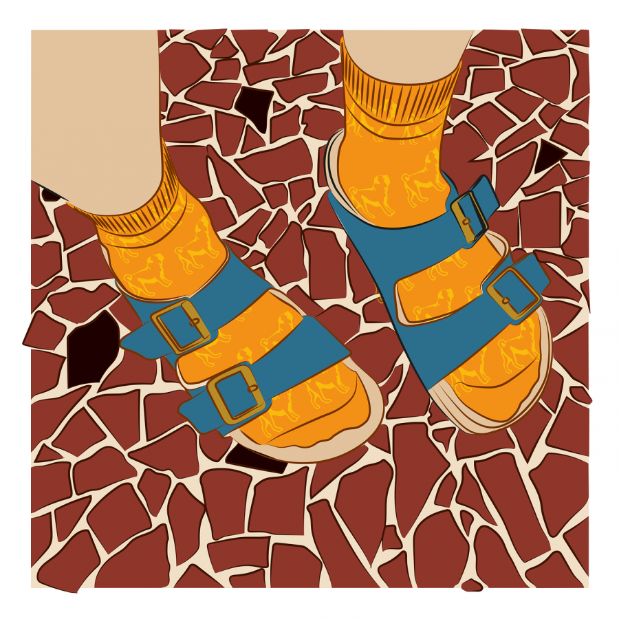 Will socks and sandals keep you warm this winter?