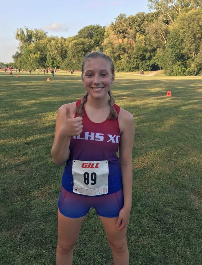 Reaghan McDaniel finished first in the race for Lynx of the Week