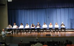 Photo taken by Madeline Knau at a signing event earlier this school year